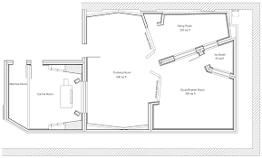 the bunker studio studio a floorplan new york recording studio
