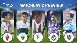 Seeking Preview Match Preview Six Laliga 1l2l3 Teams Are Seeking Their