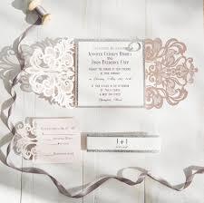laser cut invitations silver glittered blush laser cut wedding invites swws004 stylishwedd