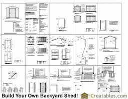 guide to shed 6x6 shed building plans