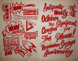 523 best sign painting images on advertising alphabet