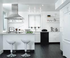 cuisine blanche sol noir idm 200806 p77 6 jpg 450 371 idées déco monochrome