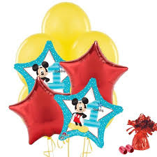 baloon bouquet mickey mouse 1st birthday balloon bouquet target