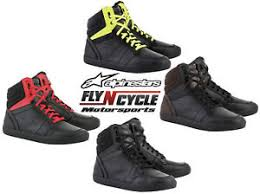 motorcycle footwear mens alpinestars mens j 8 road riding motorcycle shoes ebay