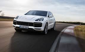 old porsche spoiler new porsche cayenne turbo unveiled for 2018 by car magazine