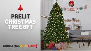 most popular prelit tree 8ft goplus 8ft pre lit pvc