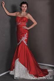 corset wedding dresses in red short wedding dress in red