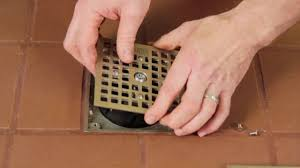 6 Floor Drain by How To Replace A Floor Drain Cover With A Drain Lock Youtube