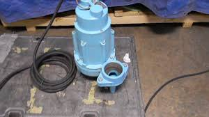 Basement Bathroom Sewage Pump Little Giant Sewage Pump Test Youtube