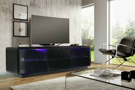 foxhunter modern high gloss matt tv cabinet unit stand home rgb