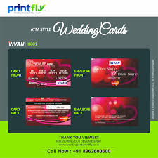 atm style wedding invitations cards are exactly like an atm card
