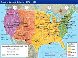 map us railroads 1860 american history part 2 reconstructing and expanding america