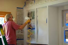 Youtube Refinishing Kitchen Cabinets Bathroom Prepossessing How Paint Kitchen Cabinets Sprayed Finish