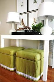 Diy Storage Ottoman Cube Diy Storage Ottoman Makeover An Transformation For These