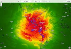 Las Vegas Weather Map by Dark Sky U0027s Pretty Weather App Is Now A Pretty Weather Site Wired