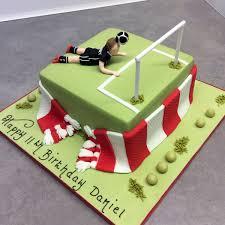 football cakes daniel s 11th football cake patacake celebration cakes