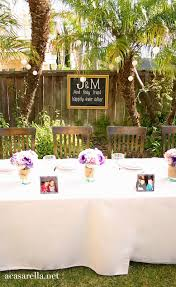Rustic Backyard Wedding Ideas Caption This A Rustic Backyard Wedding Reception A Casarella