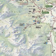 maps rocky mountain national park u s national park service