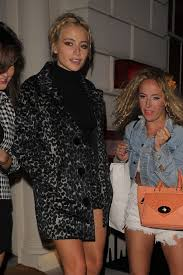 lott night out style leaving the sketch restaurant in london