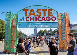 Taste Of Chicago Map Taste Of Chicago 2017 Taste Of Chicago Festival