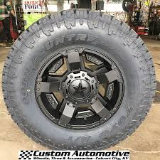Fierce Attitude Off Road Tires Custom Automotive Packages Off Road Packages 18x9 Kmc Xd