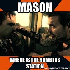 Advice Meme Generator - the numbers mason numbers screen the numbers mason what do they mean