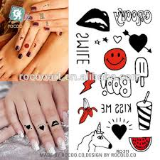 rc311 cute little tattoo stickers design and watermelon red