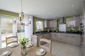the kitchen in the sheringham at centurian view in gloucester
