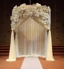 wedding backdrop arch wedding ceremony draped arch decorations ceremony decoration