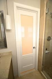 bathroom door ideas fantastic bathroom boasts a frosted glass water closet door