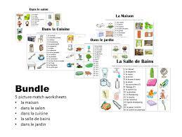 dans la cuisine dans la cuisine picture match by miriamw4ll teaching resources