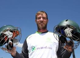 new design helmet for cricket tragic death of philip hughes inspires ireland s john mooney to