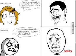 Meme Faces In Text Form - parenting meme faces 9gag