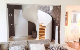 Curved Stairs Design Spiral Staircases With Steel Wood Glass And Concrete Design Details