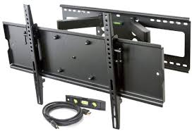 tv wall mount swing out videosecu heavy duty dual arm cantilever swingout articulating tv
