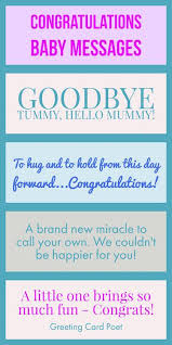 congratulations baby messages quotes wishes and sayings to let