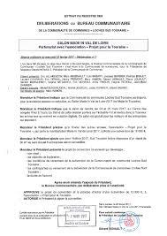 bureau registre des entreprises délibérations bureau cclst du 22 février 2017 les fédérés de