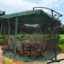 Threshold Offset Patio Umbrella 9x9 U0027 Square Aluminum Offset Umbrella Patio Outdoor Shade W Cross