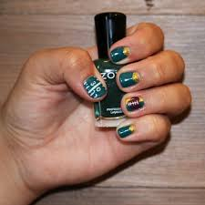 football fever nail art tutorial neroli aveda lifestyle salon u0026 spa