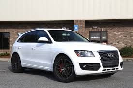 lowered cars lowered 2012 audi q5 on niche wheels trinity motorsports