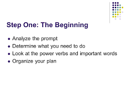 Step Two  Organize Outline your five paragraph essay    SlidePlayer