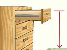 Desks With Drawers On Both Sides 5 Ways To Remove Drawers Wikihow