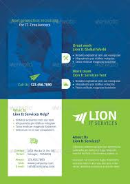it services flyer template by grafilker graphicriver
