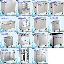electric snack trolley stainless steel mobile food cart dining