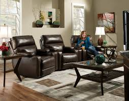 home theater loveseat recliners southern motion tango theater seating group with 4 lay flat