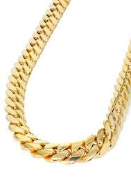 cuban chain necklace gold images Fashion stainless steel thick gold chain necklace male new 3 size jpeg