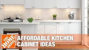 best kitchen cabinets cheap affordable kitchen cabinet ideas the home depot