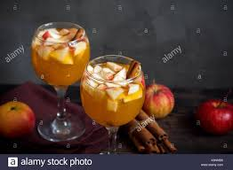 sangria apple cider punch fruit wine for autumn and