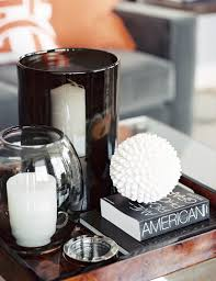 coffee table decorations styling tips for decorating with trays