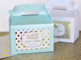Birthday Favor Boxes by Twinkle Twinkle Favors Personalized